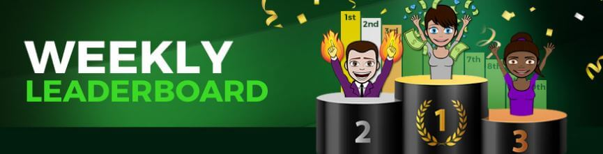 Sugarhouse Casino Weekly Leaderboard Promotion