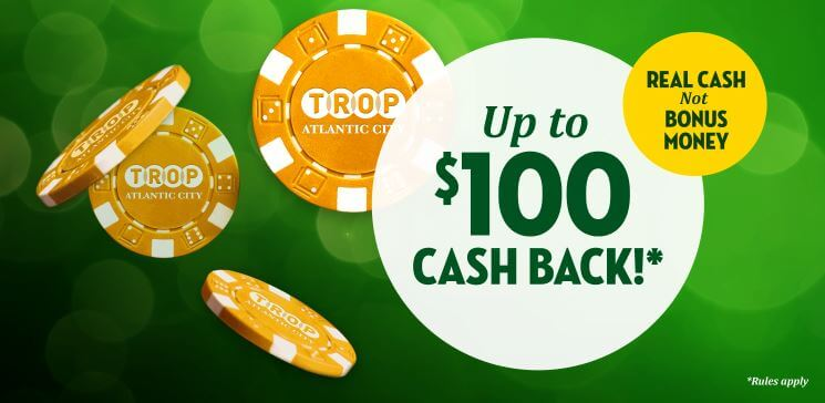 Tropicana Casino Welcome Bonus