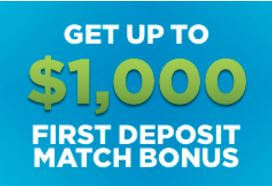 Resorts Casino Bonus - Get up to $1000 first deposit match bonus - Terms and conditions apply - Clicking on this image will take you to the Resorts Casino website
