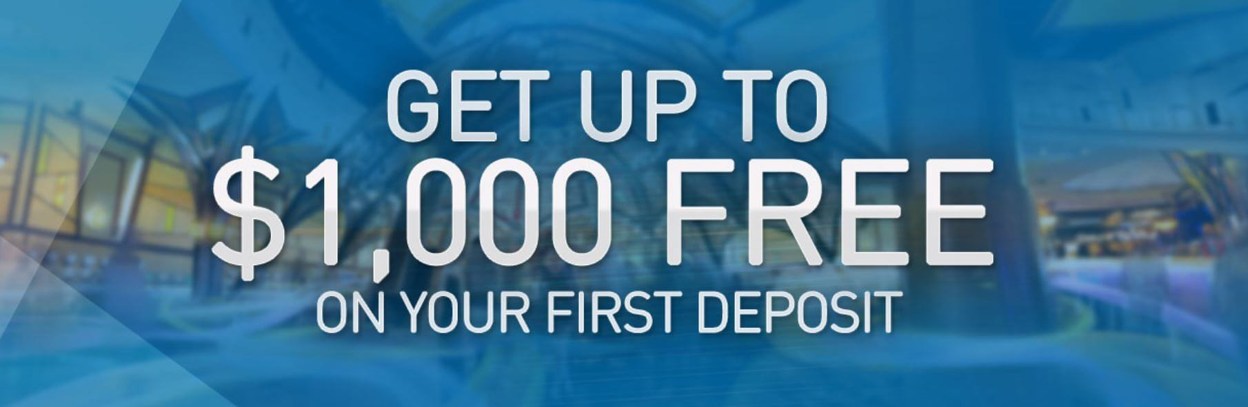 Mohegan Sun Promo Code bonus offer - Get up to $1000 free on your first deposit - Terms and conditions apply - Clicking on this link will take you to the Mohegan Sun Casino website - Terms and conditions apply