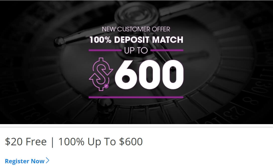 Borgata Online Bonus Code offer - New customer offer - 100% deposit match up to $600 - Clicking on this link will take you to Borgata Online Casino website - Terms and conditions apply - Read above
