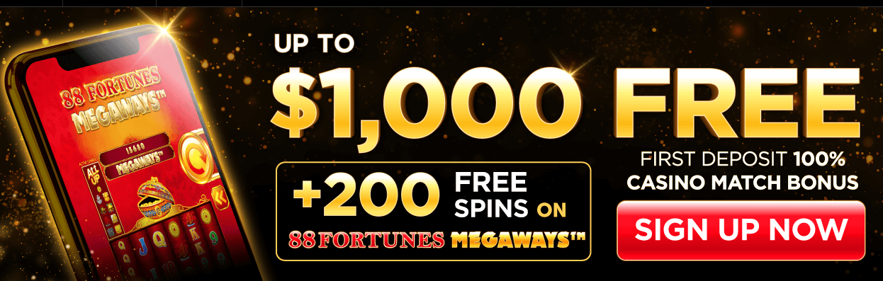 Golden Nugget Casino Bonus Code Offer - 100% match on first deposit up to $1,000 + 200 free spins - Terms and conditions apply - Clicking on this image will take you to the Golden Nugget Casino website