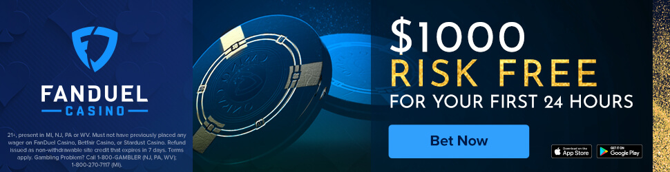 FanDuel Casino bonus code offer - Play your first day risk free up to $1000